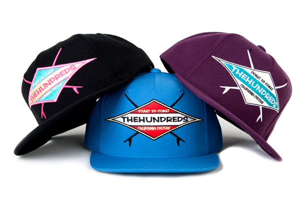 "The Hundreds ""COAST TO COAST"" Snapback Pack"