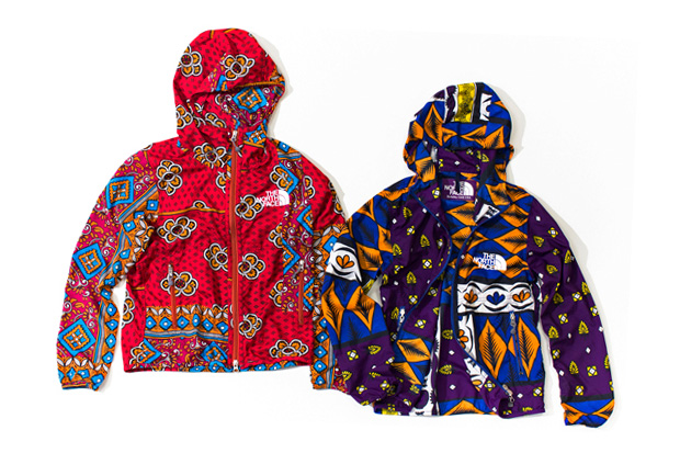 "THE NORTH FACE PURPLE LABEL ""Africa"" Mountain Wind Parka"
