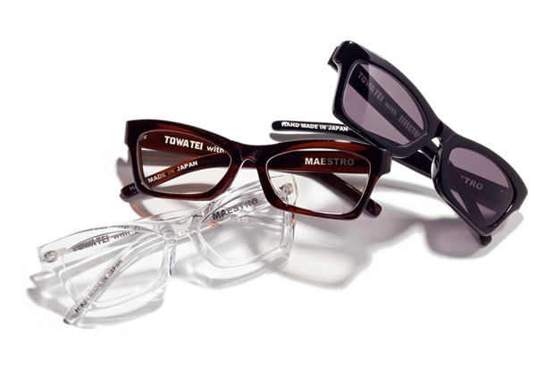 towa tei with effector maestro glasses