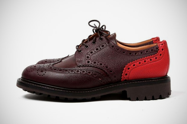 union x mark mcnairy new amsterdam country mix brogue
