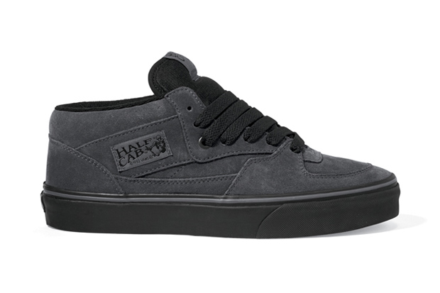 vans classics 2011 fall dark shadow half cab