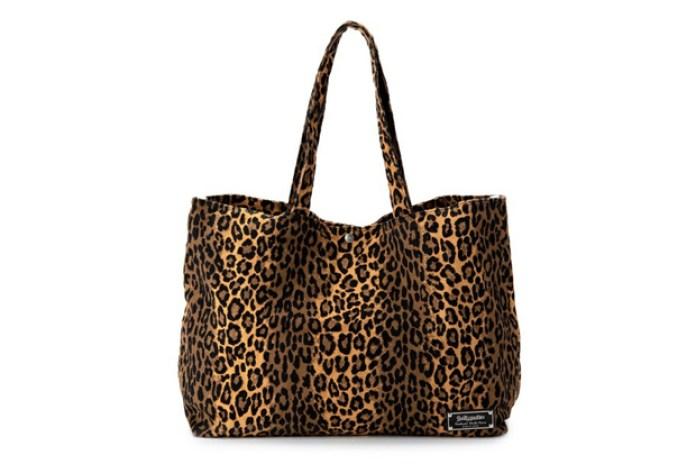 WACKO MARIA x Porter Leopard Tote Bag