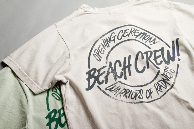 warriors of radness x opening ceremony beach crew collection