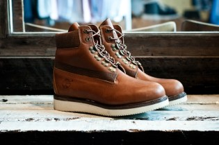White Mountaineering x Timberland Hiker Boots