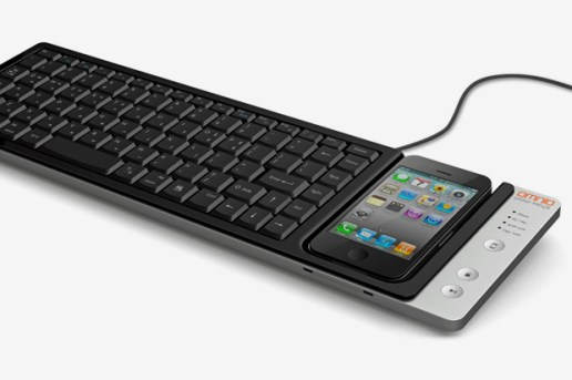 WOW-Keys iPhone Keyboard Dock by Omnio