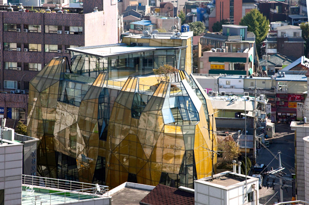 """Yellow Diamond"" by Jun Mitsui & Associates Architects"