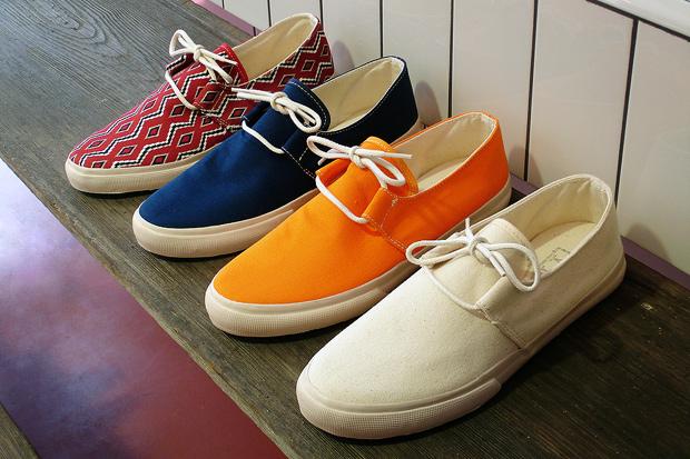YMC Canvas Deck Shoe