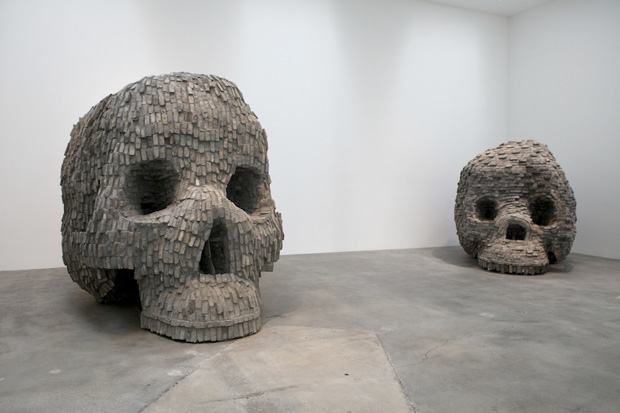 "Zhang Huan ""49 Days"" Exhibition @ Blum & Poe Recap"