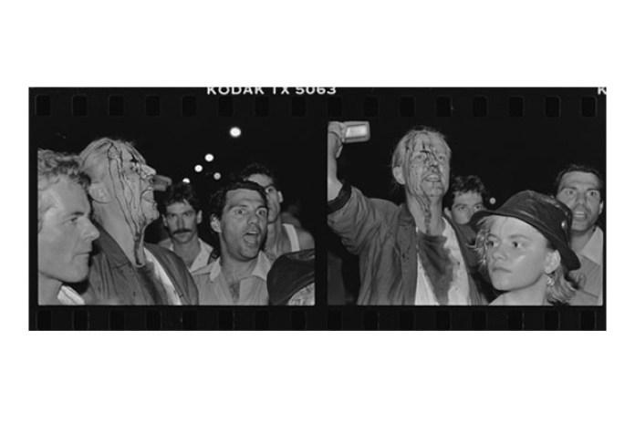 1988 Thompkins Square Park Riot by Ai Weiwei
