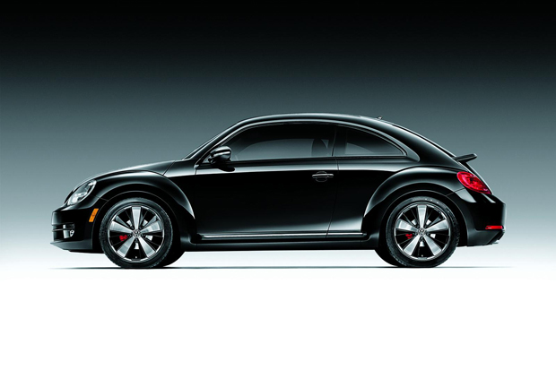 2012 Volkswagen Beetle Black Turbo Edition