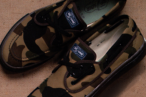 A Bathing Ape x Sperry Top-Sider Bahama Preview