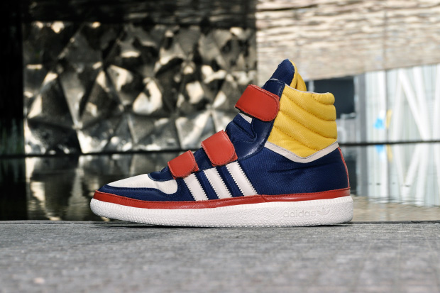 adidas originals blue bit textile