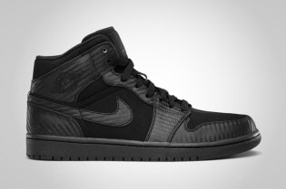 "Air Jordan 1 Phat ""Carbon Fiber"" Black"