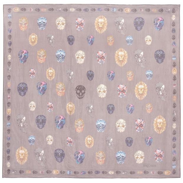 alexander mcqueen commemorative scarf metropolitan museum of art
