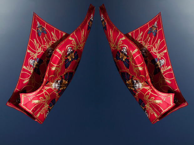 alexander mcqueen scarf collection