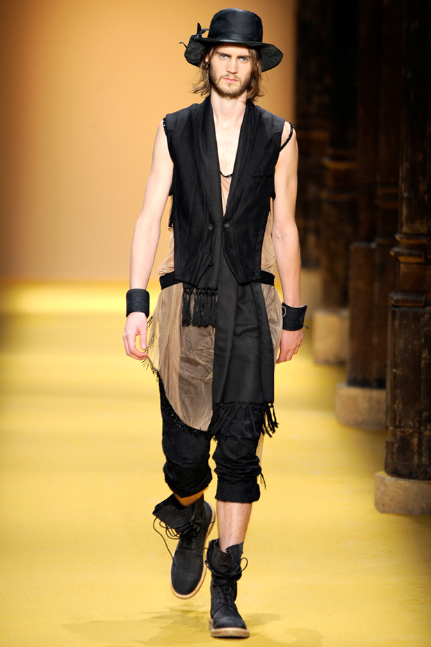 ann demeulemeester 2012 springsummer collection