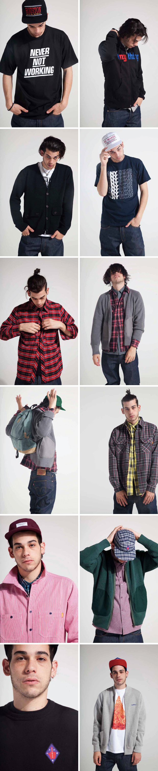 anything 2011 fall collection lookbook