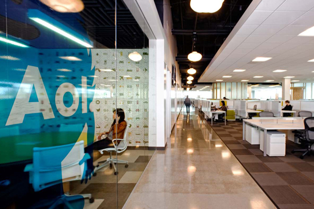 aol offices by studio oa