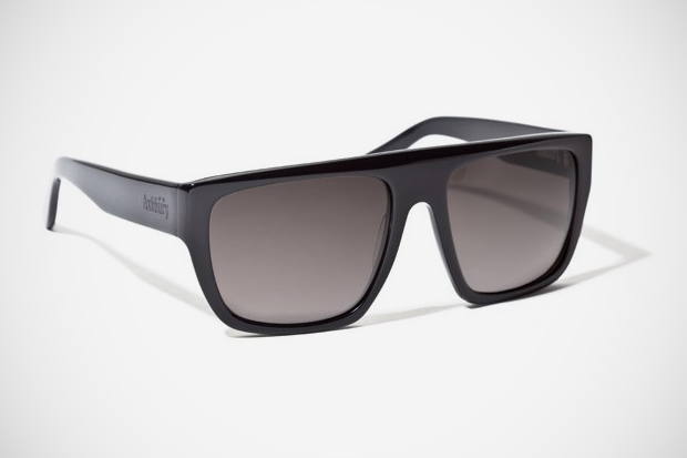 "Ashbury Crenshaw ""Bryan Herman Black"" Sunglasses"