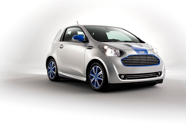colette x aston martin cygnet city car