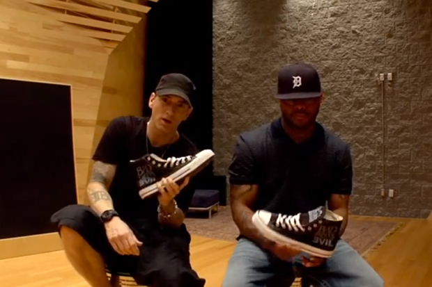"""Bad Meets Evil x Converse: Interview with Eminem and Royce da 5'9"""""""