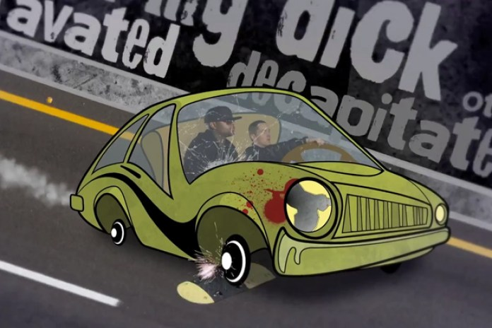 "Bad Meets Evil (Eminem and Royce Da 5'9"") - Fast Lane"