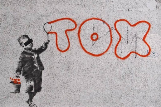 Banksy for Tox