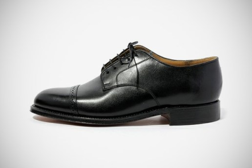 BEAMS Cap Toe Brogue