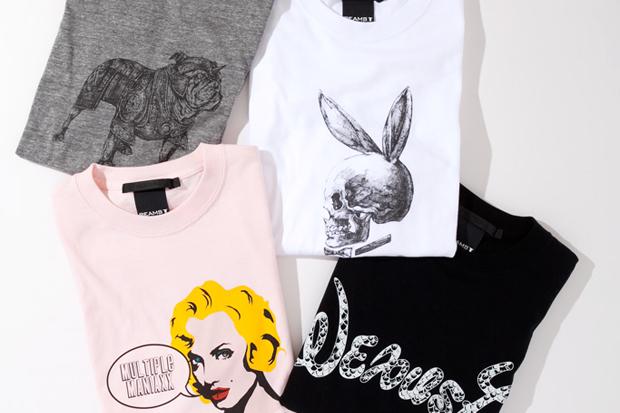beams t x nexusvii t shirt collection