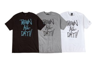 "Blue Scholars x Stussy Seattle ""Town All Day"" T-Shirt"