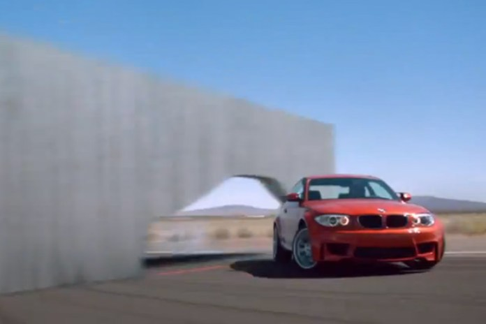 "BMW 1 Series M Coupe ""Walls"" Commercial"