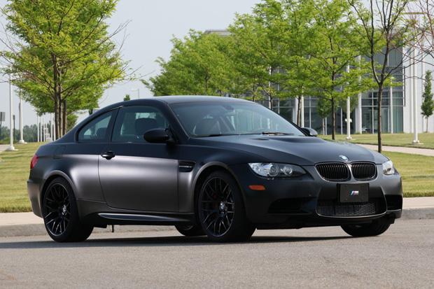 """BMW 2011 M3 """"Frozen Black"""" Edition"""