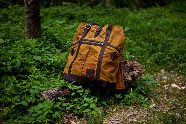 british millerain co x master piece wash backpack