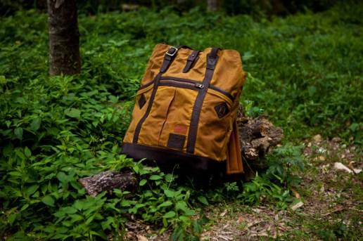 "British Millerain Co. x master-piece ""Wash"" Backpack"
