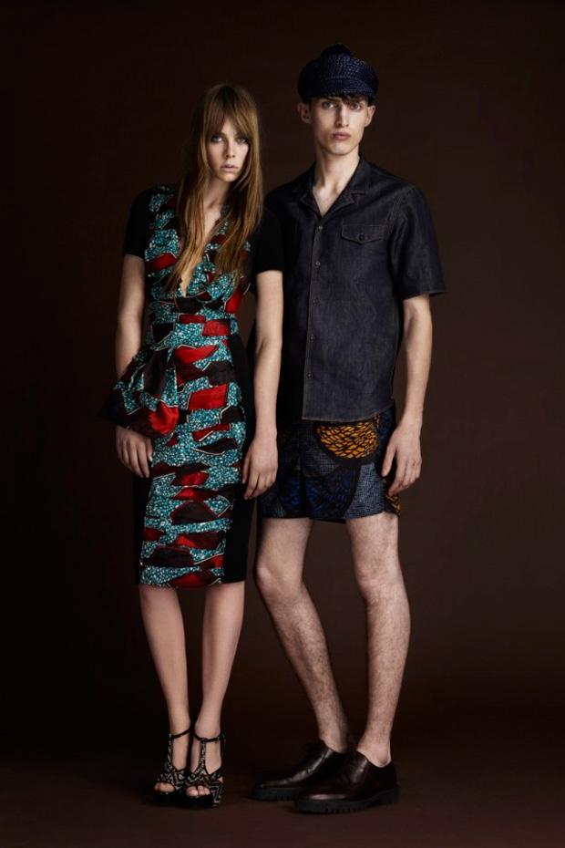 burberry prorsum pre spring 2012 collection