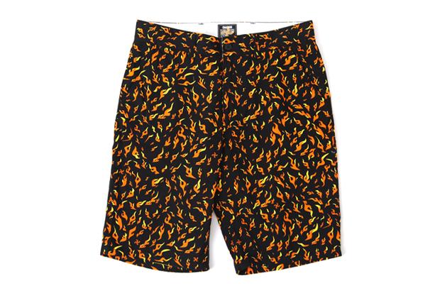 challenger fire shorts