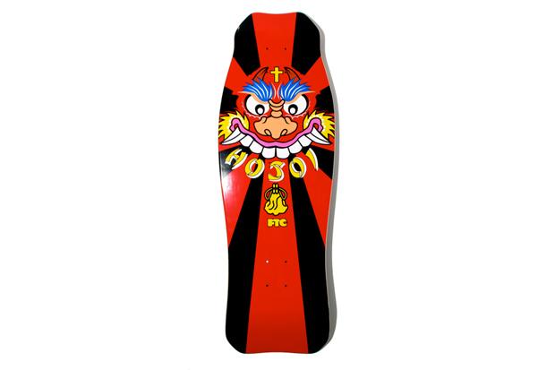 Christian Hosoi x FTC Skate Deck