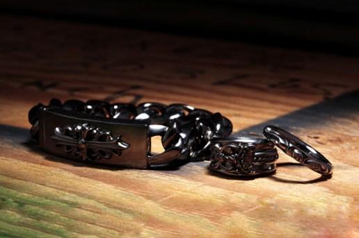 Chrome Hearts Black Rhodium Collection
