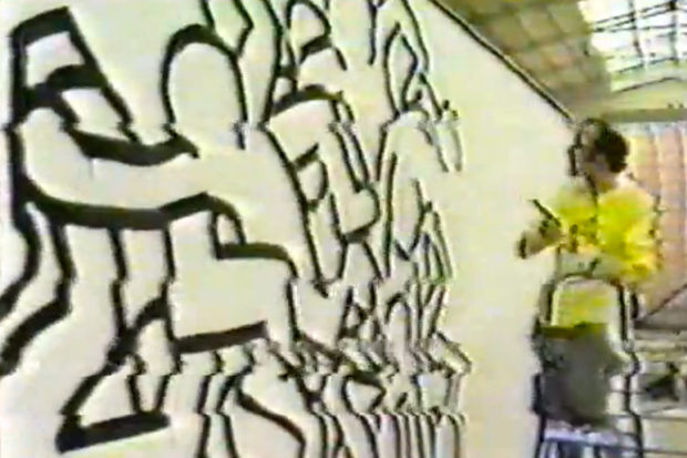 Classic Keith Haring Video