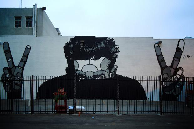 David Flores Murals in Los Angeles