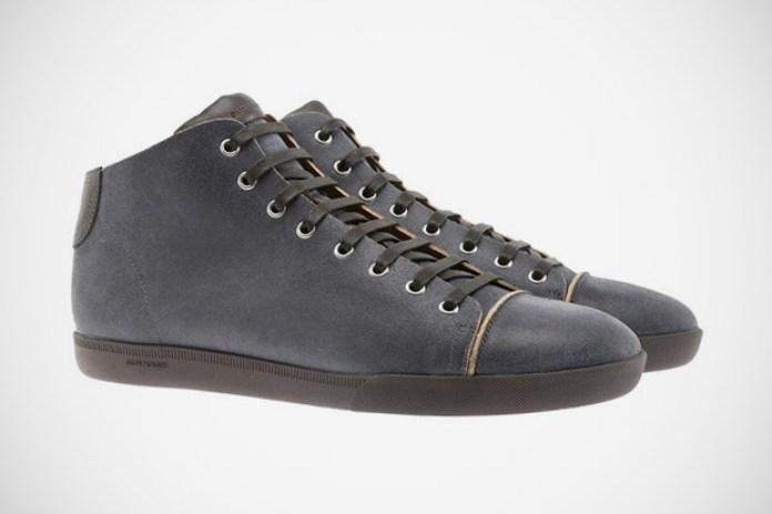 Dior Homme Raw Edged Suede Sneakers