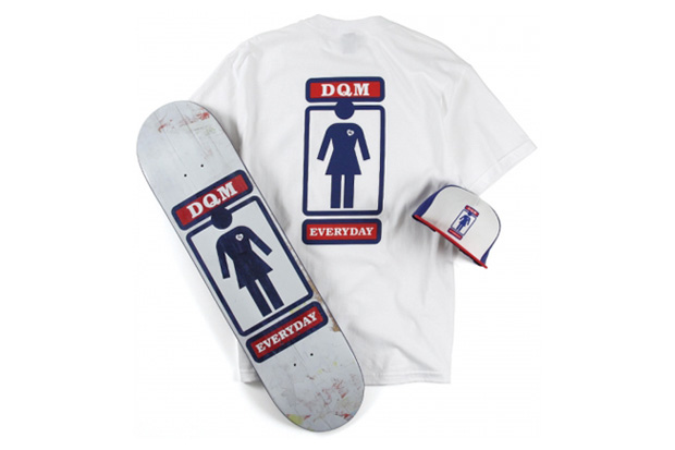 "DQM x Girl Skateboards ""Everyday"" Collection"
