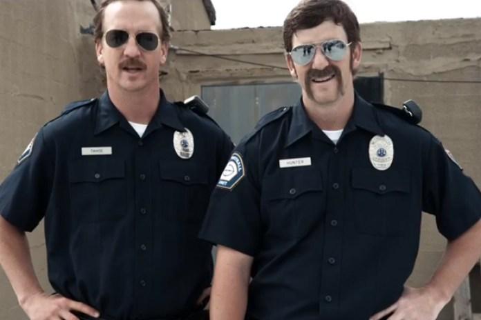 'Football Cops' featuring Peyton & Eli Manning