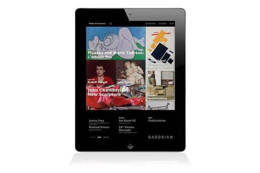 Gagosian Gallery iPad App
