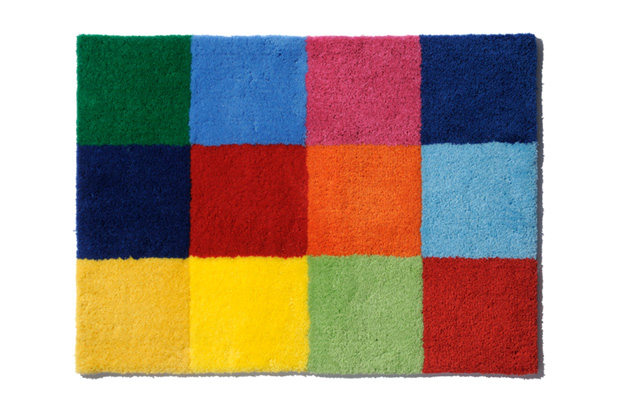 Gallery1950 x uniform experiment Color Chart Rug Mat