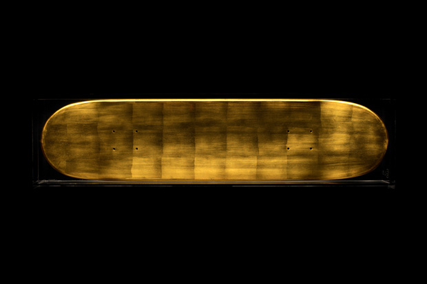 Greg Hervieux x Atelier PALOMARES GOLD Skateboard