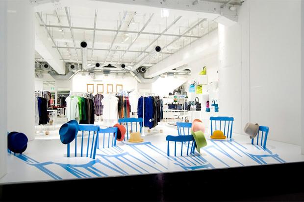 Issey Miyake x Yoichi Yamamoto Architects 2D/3D Chairs