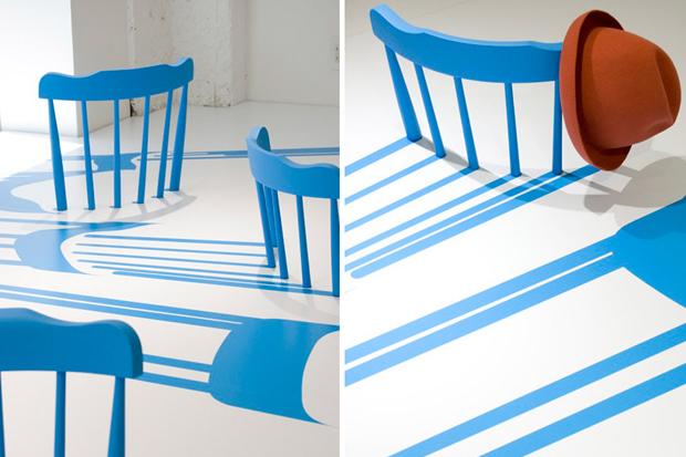 issey miyake x yoichi yamamoto architects 2d3d chairs