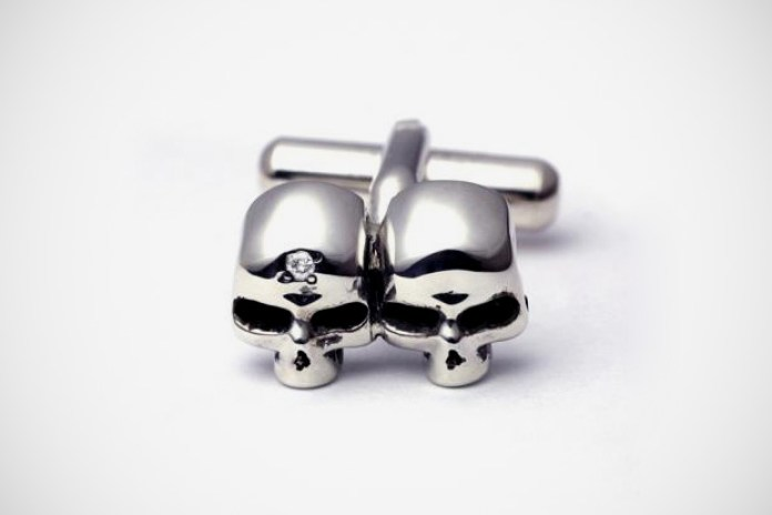 JAM HOME MADE SKULL CUFF LINKS