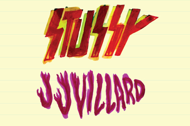 JJ Villard x Stussy 2011 Summer Collection